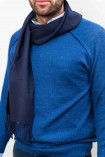 Roze effen sjaal
