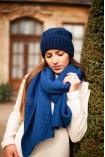 Echarpe Alpaga Apocuna Bleu Royal