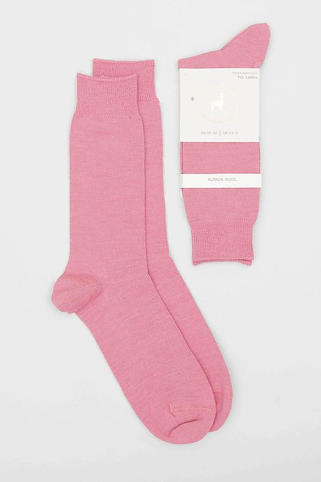 Rosa Pitana Alpaka Socken