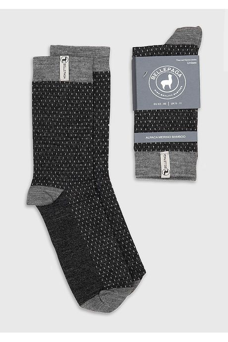 Anthrazitgraue/Graue Wira Premium Socken