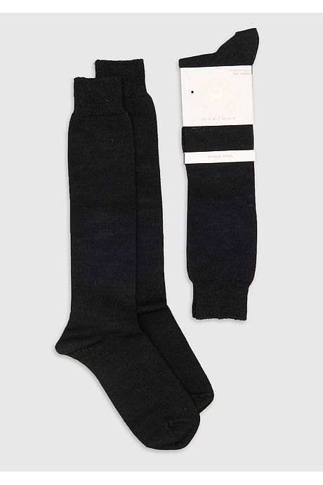 Navy Blue Pitana Alpaca Socks