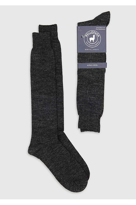 Anthracite Grey Pitana Alpaca Socks