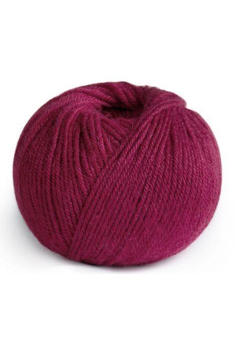 Violetpaarse bol wol