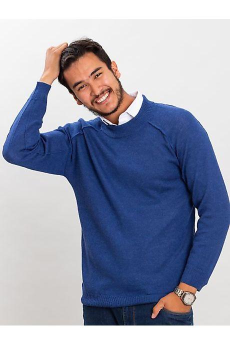 Dark Blue Panaca Alpaca Sweater
