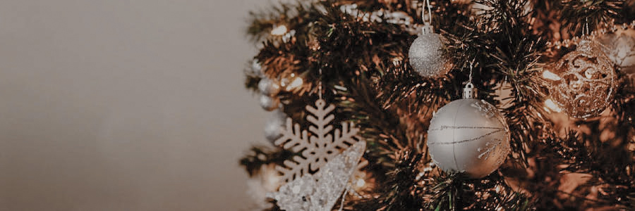 Flocon Noel sapin blanc décorations