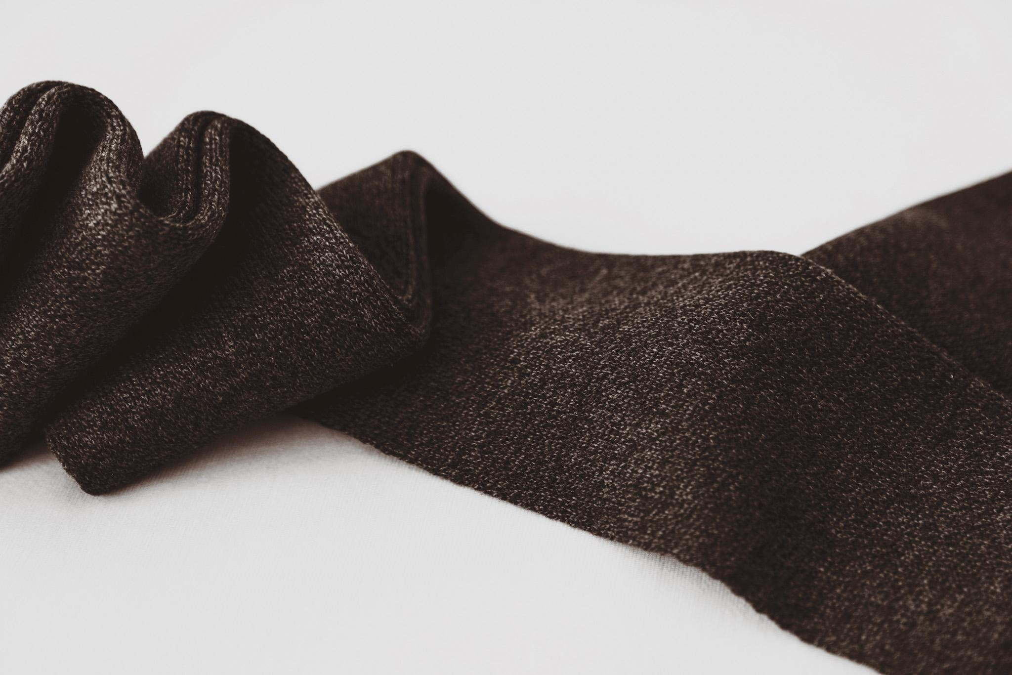 Socke braun