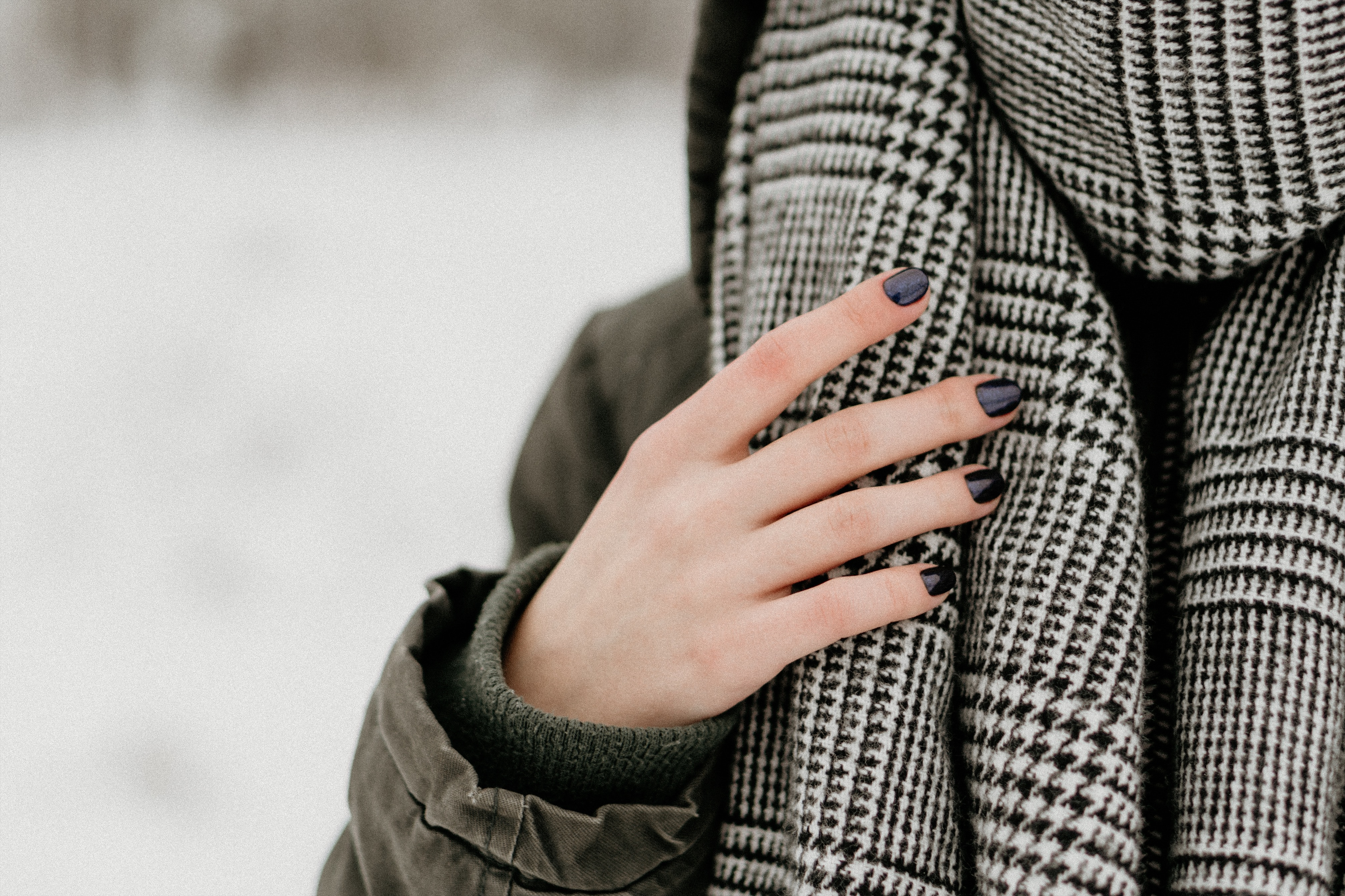 sjaal dragen